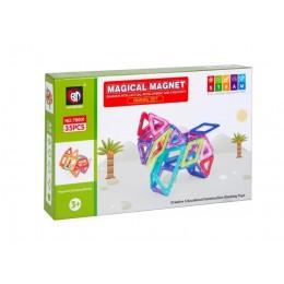 """Магнитный конструктор Xinbida Magical Magnet """"Динозавры"""" (35 деталей)"""