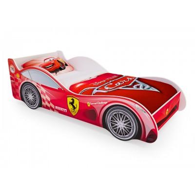 """Детская кровать машина гоночная """"Красная"""" (без ящиков)"""