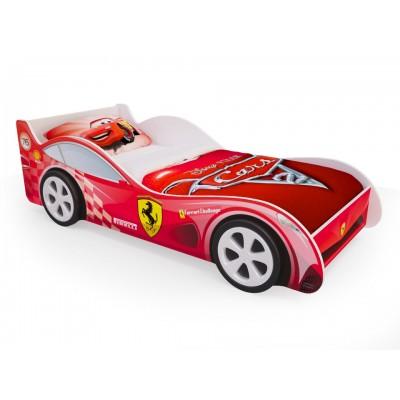 """Детская кровать машина """"Красная"""" (с ящиками)"""