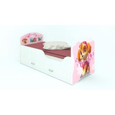 """Детская кровать CLASSIC """"Щенячий патруль"""" (с ящиками)"""