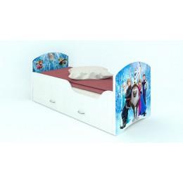 """Кровать CLASSIC """"Холодное сердце"""" (с ящиками)"""