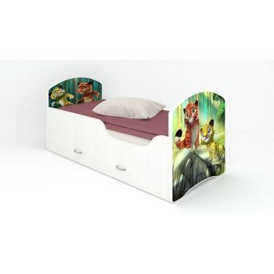 """Детская кровать Classic """"Лео и Тиг"""" (с ящиками)"""
