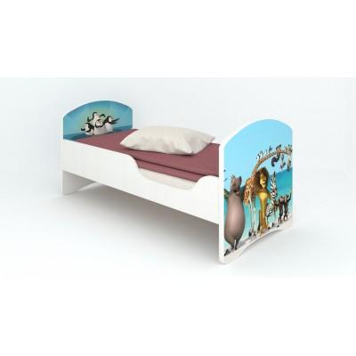 """Детская кровать Classic """"Мадагаскар"""" (без ящиков)"""