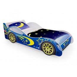 Кровать машинка «Синяя» (без ящиков)