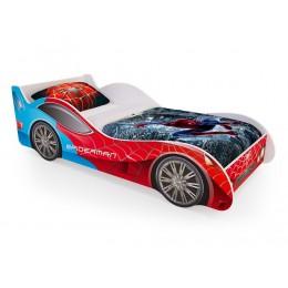 Кровать машинка «Спайдер-мен» (без ящиков)