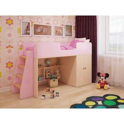 """Детская игровая кровать для девочки """"Розовая"""""""