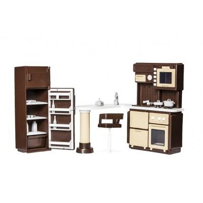 """Набор мебели для кухни в кукольный домик """"Коллекция"""""""