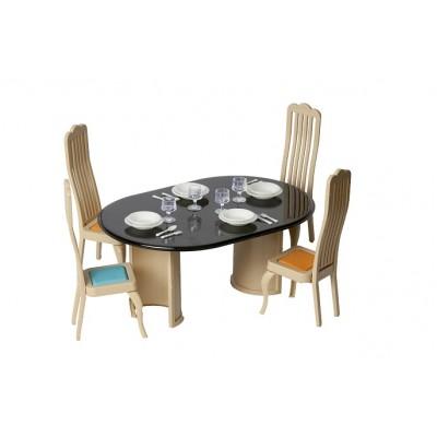 """Игрушечный набор мебели для столовой в кукольный домик """"Коллекция"""""""