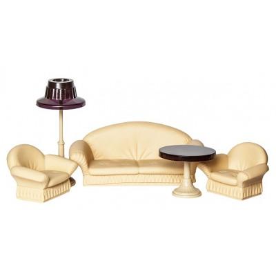 """Игрушечный набор мягкой мебели для гостиной в кукольный домик """"Коллекция"""""""