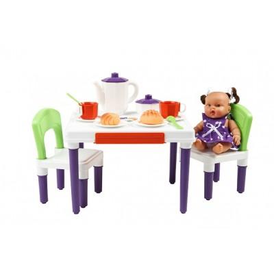 """Игрушечная мебель """"Малыш"""" для кукольного дома"""