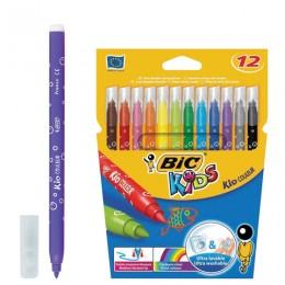 """Фломастеры BIC """"Kid Couleur"""", 12 цветов"""