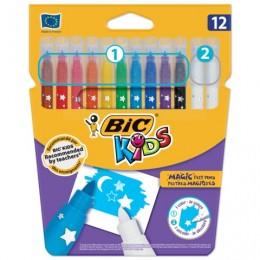 """Фломастеры """"Пиши и стирай"""" BIC, 12 штук"""