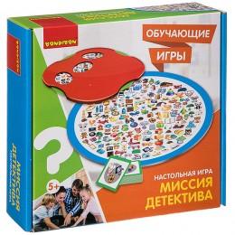 Настольная обучающая игра «МИССИЯ ДЕТЕКТИВА» BONDIBON
