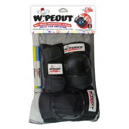 Комплект защиты Wipeout черный