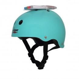 Шлем с фломастерами Wipeout M бирюзовый