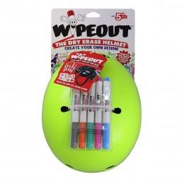 Шлем с фломастерами Wipeout M кислотный