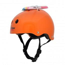 Шлем с фломастерами Wipeout M оранжевый