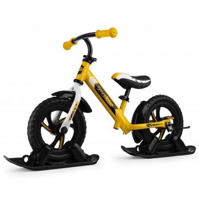 Беговел на лыжах Small Rider Combo Drift желтый