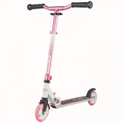 Самокат Tech Team TT Comfort 125R бело-розовый