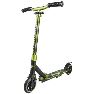 Самокат Tech Team TT Jogger 145 2019 черно-зеленый