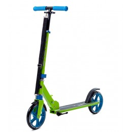 Самокат Bibitu Sigma сине-зеленый