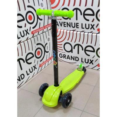 Самокат Ateox M-6 Maxi Shine зеленый