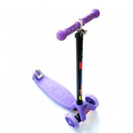 Самокат Bibitu Cavy фиолетовый