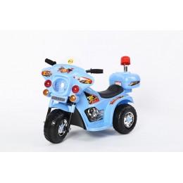 """Детский электромотоцикл """"MOTO 998"""" Blue (RiverToys)"""