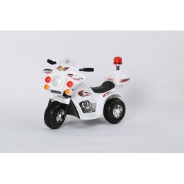 """Детский электромотоцикл """"MOTO 998"""" White (RiverToys)"""