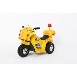 """Детский электромотоцикл """"MOTO 998"""" Yellow (RiverToys)"""