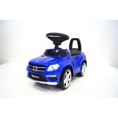 """Детская машинка каталка (толокар) """"Mercedes-Benz"""" Blue (Синий)"""