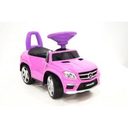 """Детская машинка каталка (толокар) """"Mercedes-Benz"""" Pink"""
