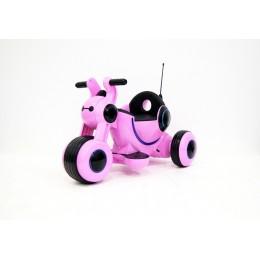 """Детский электромотоцикл """"МОТО HL300"""" Pink (RiverToys)"""