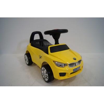 """Детская машинка каталка (толокар) """"BMW"""" Yellow (Желтый)"""