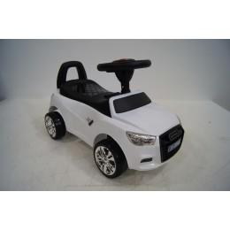 "Детская машинка каталка (толокар) ""AUDI"" White (Белая)"