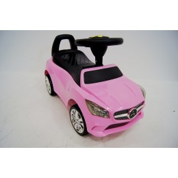 """Детский толокар, машинка каталка """"MERCEDES"""" Pink (Розовая)"""