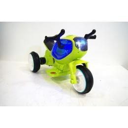 """Детский электромотоцикл """"MOTO HC-1388"""" Green (RiverToys)"""