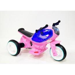 "Детский электромотоцикл ""MOTO HC-1388"" Pink (Розовый) RiverToys"