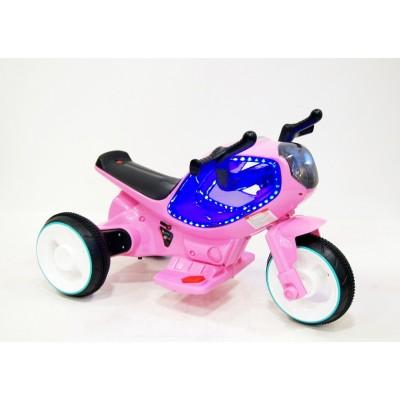 """Детский электрический мотоцикл """"MOTO HC-1388"""" Pink (Розовый)"""