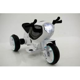 """Детский электромотоцикл """"MOTO HC-1388"""" White (RiverToys)"""