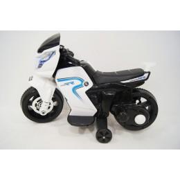 """Детский электромотоцикл """"MOTO O888OO"""" White (RiverToys)"""
