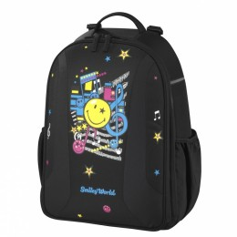 """Школьный рюкзак """"BE.BAG AIRGO"""" Smiley Worls Pop (без наполнения) Herlitz"""