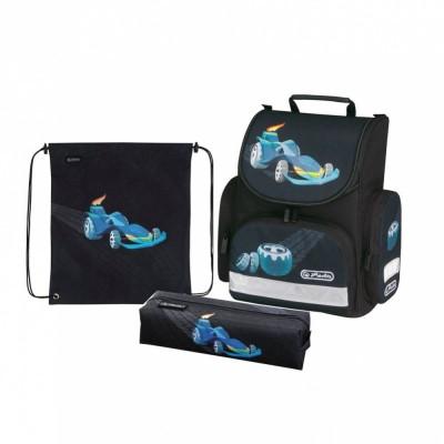 Школьный ранец MINI Design Car (с наполнением) Herlitz