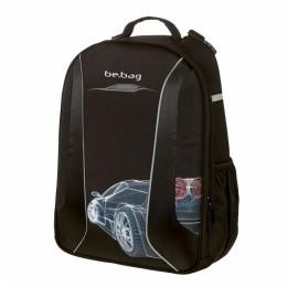 """Школьный рюкзак """"BE.BAG AIRGO"""" Grid Car (без наполнения) Herlitz"""