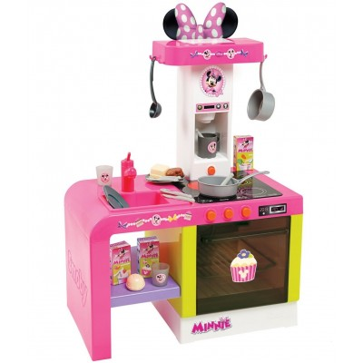 """Детская игрушечная кухня со светом и звуком """"Cheftronic Minnie"""" Smoby"""