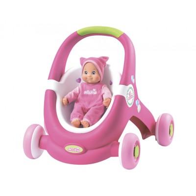 Игрушечная коляска для кукол - ходунки (Смоби)