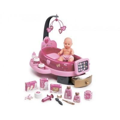 Набор по уходу за куклой со светом и звуком (Smoby)