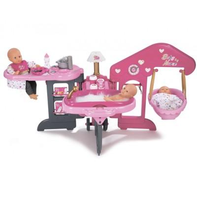 Игровой центр по уходу за куклой (пупсом) Smoby