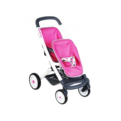 Прогулочная коляска для 2-х кукол (Смоби)