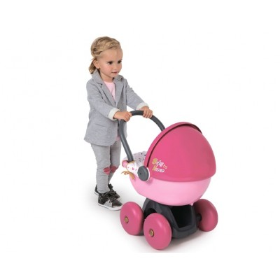 Игрушечная коляска люлька для кукол (Смоби)